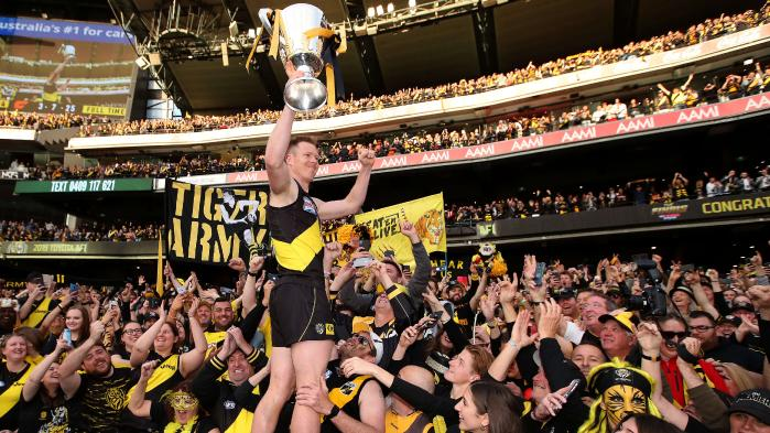 who has won the most afl premierships*