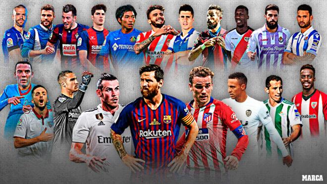 How many games in La Liga